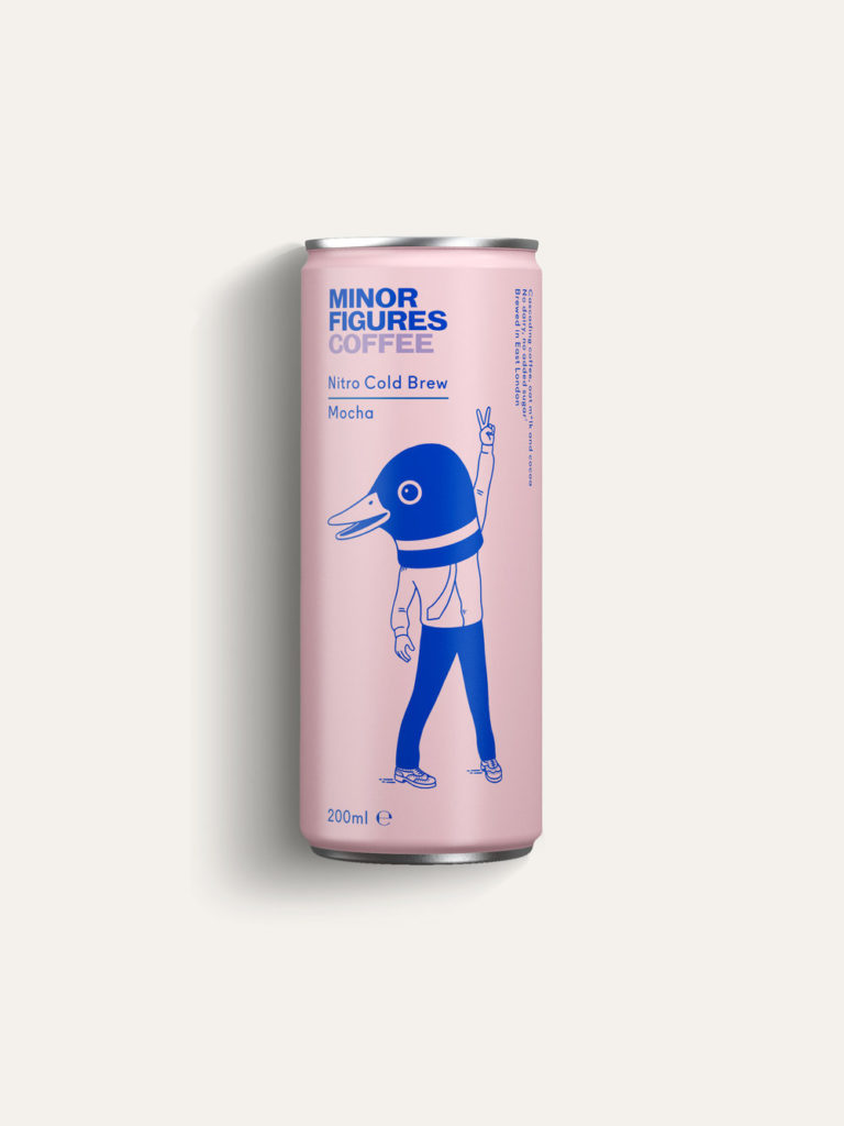 Plastic Free Cold Brew Coffee from Minor Figures