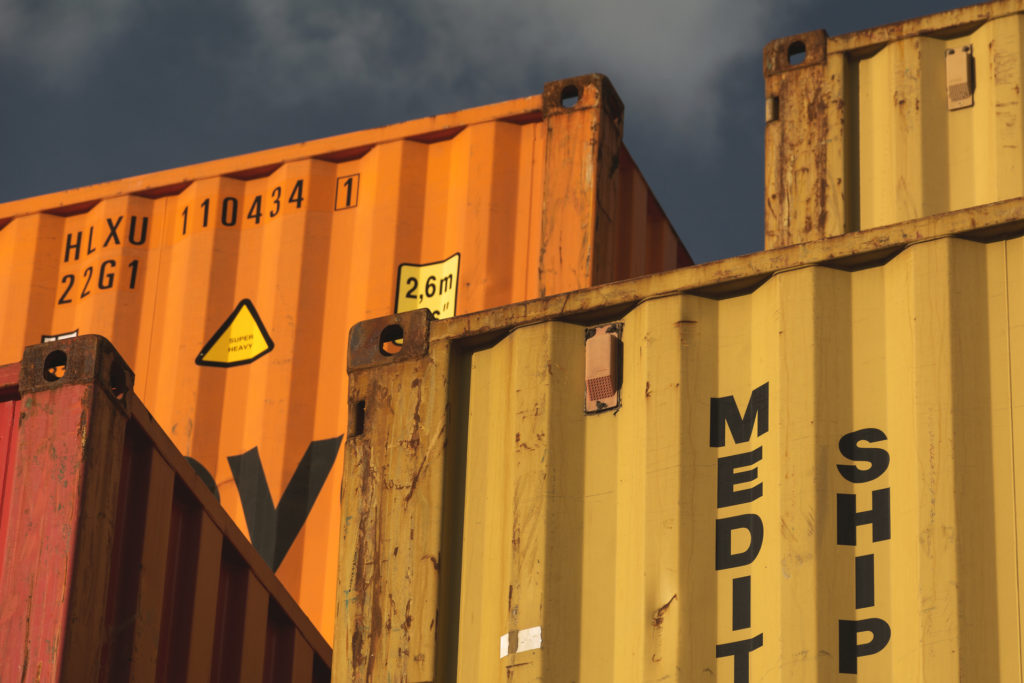 Blue Planet Live Secrets that lurk in the deep shipping containers