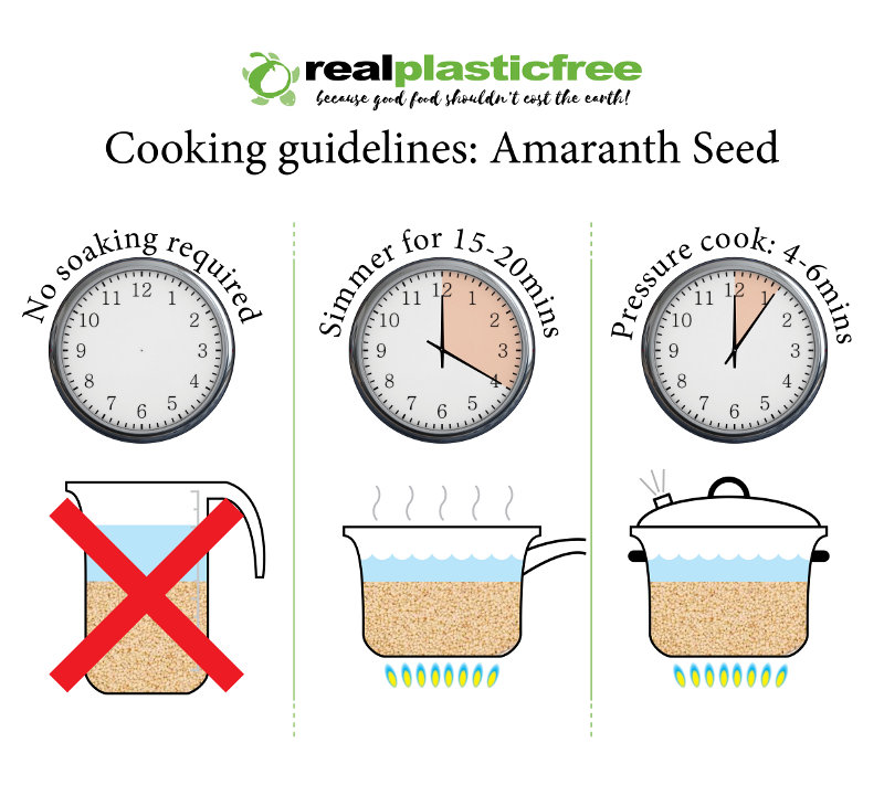 how to cook amaranth