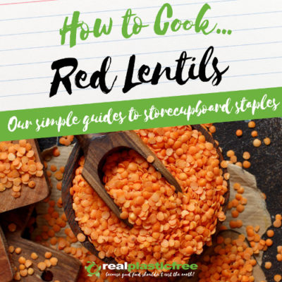 how to cook red lentils