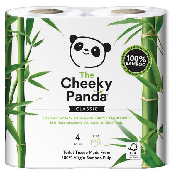 Plastic Free bamboo toilet paper