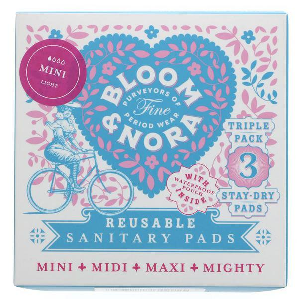 Plastic Free Bloom & Nora Sanitary Pads