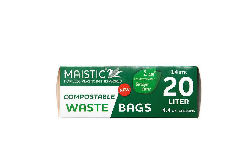Plastic Free compost bags