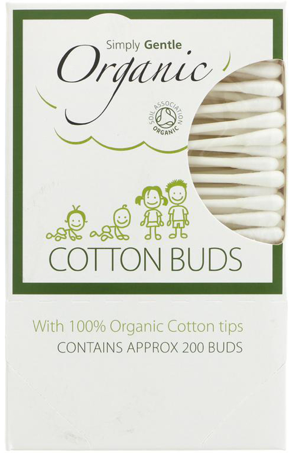 Plastic Free cotton buds from Simply Gentle