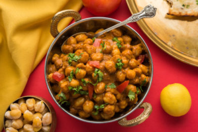 chickpeas make a great curry