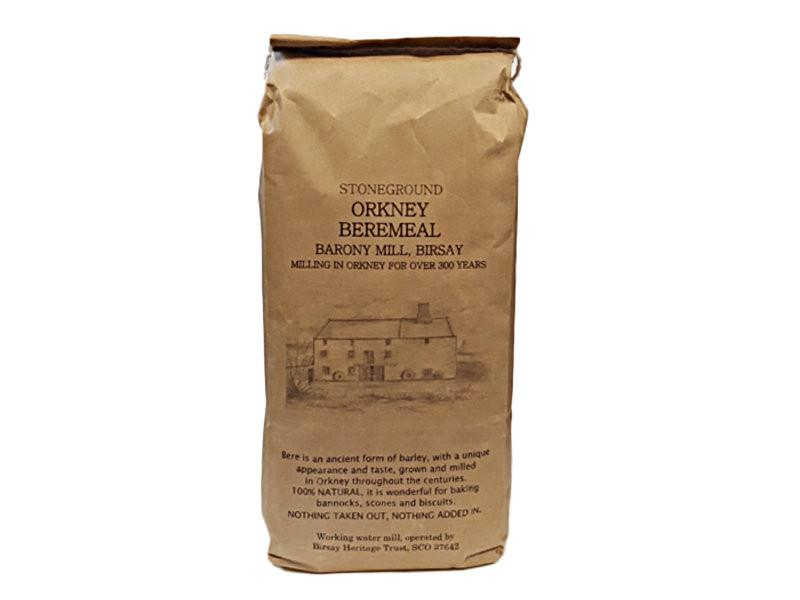 Flour produced by Barony Mill in Birsay