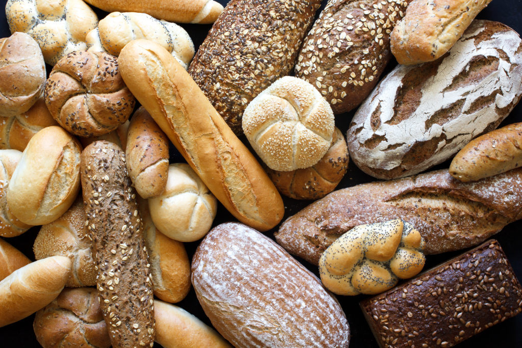 An assortment of home baked bread
