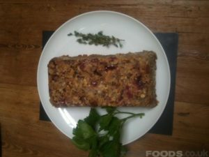 5 nut roast with herb stuffing
