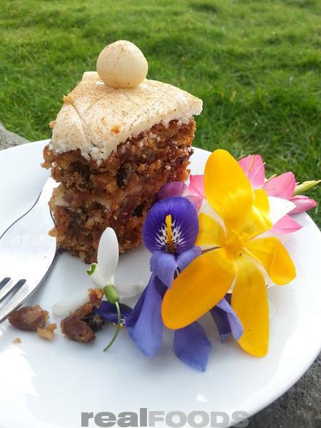 enjoy a slice of Simnel cake for Easter teatime